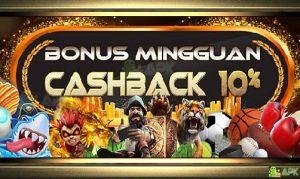 Bonus Cashback Slot Online